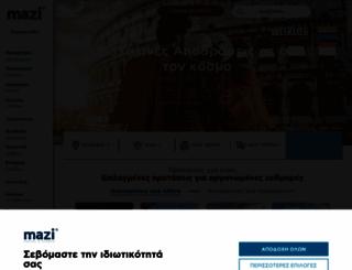 mazi.travel screenshot