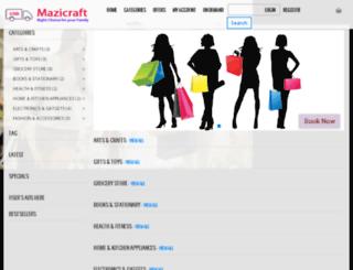 mazicraft.pjsindia.com screenshot
