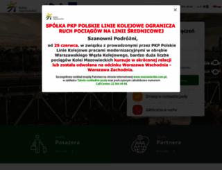 mazowieckie.com.pl screenshot