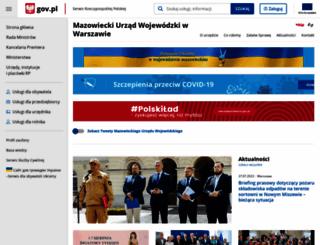 mazowieckie.pl screenshot
