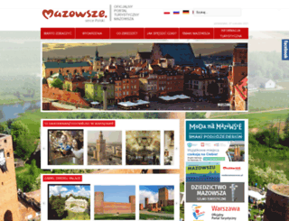 mazowsze.travel screenshot