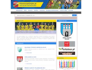 mazowszegrojec.pl screenshot
