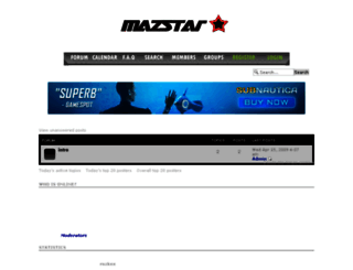 mazstar.findtalk.biz screenshot