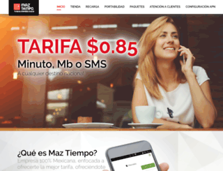 maztiempo.com screenshot