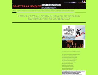 maztulis.wordpress.com screenshot