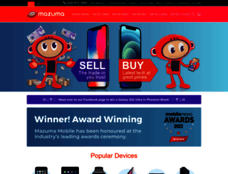 mazumamobile.com screenshot