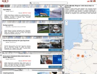 mazury-free.pl screenshot