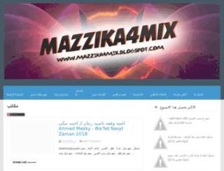 mazzika4mix.blogspot.com screenshot