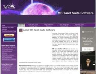 mb-free-tarot-suite.mysticboard.com screenshot