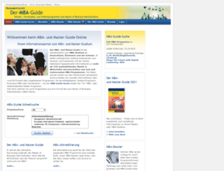 mba-guide.de screenshot