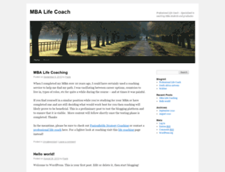 mba-lifecoach.com screenshot