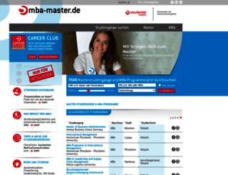 mba-master.de screenshot