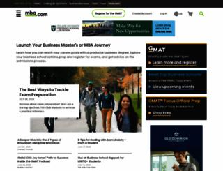 mba.com screenshot