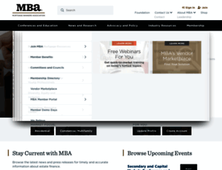 mba.org screenshot