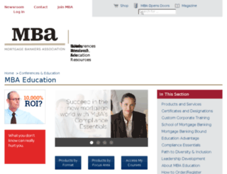mbaeducation.org screenshot