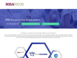 mbafocus.com screenshot