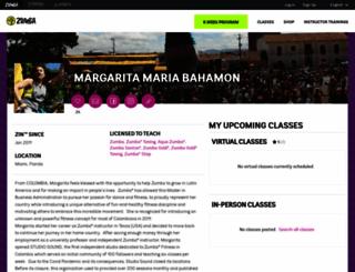 mbahamon.zumba.com screenshot