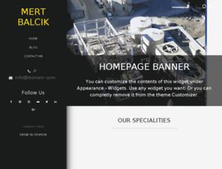 mbalcik.com screenshot