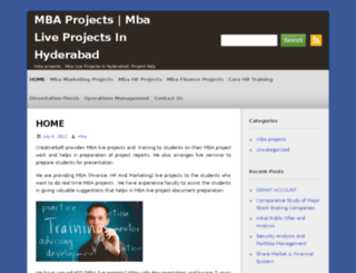 mbaliveprojects.info screenshot