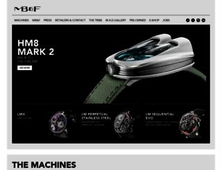 mbandf.com screenshot