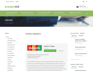 mbank.kredytgo.pl screenshot