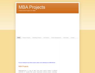 mbaprojects.pro screenshot