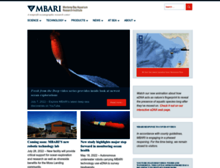 mbari.org screenshot