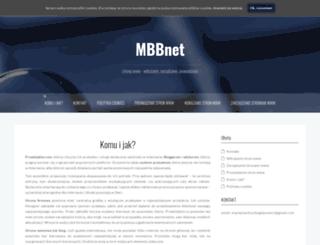 mbbnet.eu screenshot