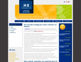 mbdev.fr screenshot