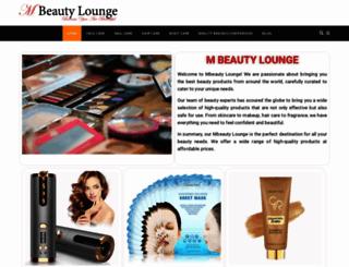 mbeautylounge.com screenshot