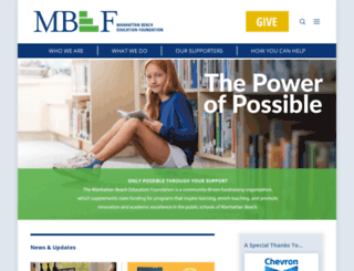 mbef.org screenshot