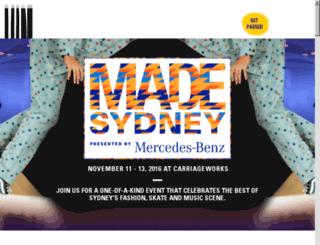 mbffsydney.com.au screenshot