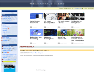 mbgraphicsfilm.com screenshot