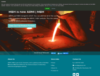 mbh.co.uk screenshot