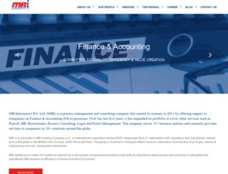 mbinformatics.com screenshot