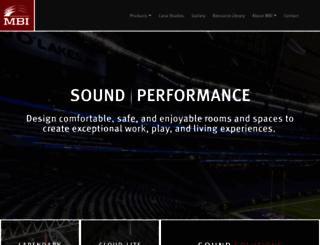 mbiproducts.com screenshot
