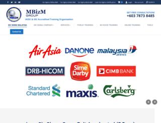 mbizm.com screenshot