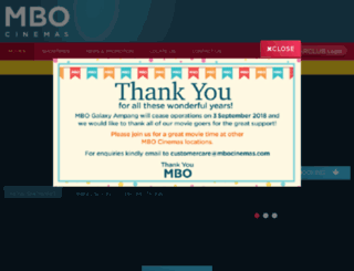 mbocinemas.com screenshot