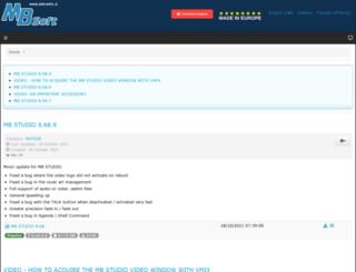 mbradio.it screenshot
