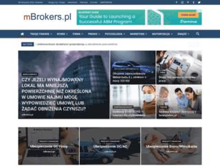 mbrokers.pl screenshot