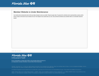 mbs.bcbsfl.com screenshot