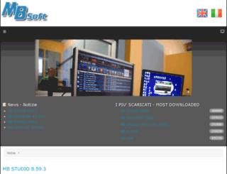 mbsoft.mbradio.it screenshot