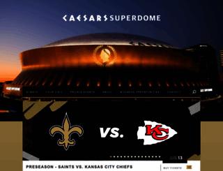 mbsuperdome.com screenshot