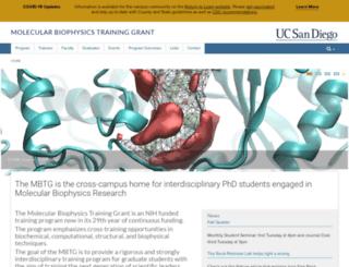 mbtg.ucsd.edu screenshot