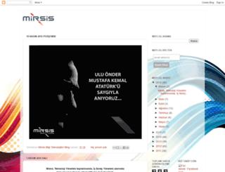 mbtlog.mirsis.com.tr screenshot