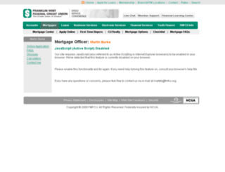 mburke-fmfculo.mortgagewebcenter.com screenshot