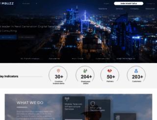 mbuzz.com.sa screenshot