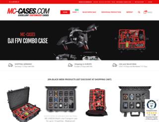 mc-cases.com screenshot
