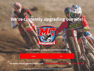 mc-powersports.com screenshot