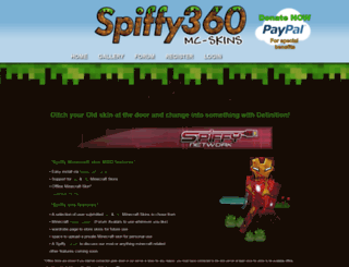 mc.spiffy360.com screenshot